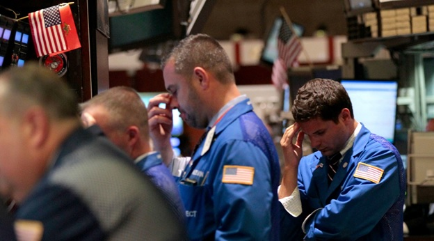 Как начинается паника на бирже?