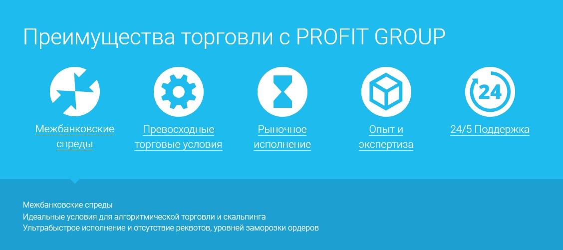 плюсы и минусы profit group