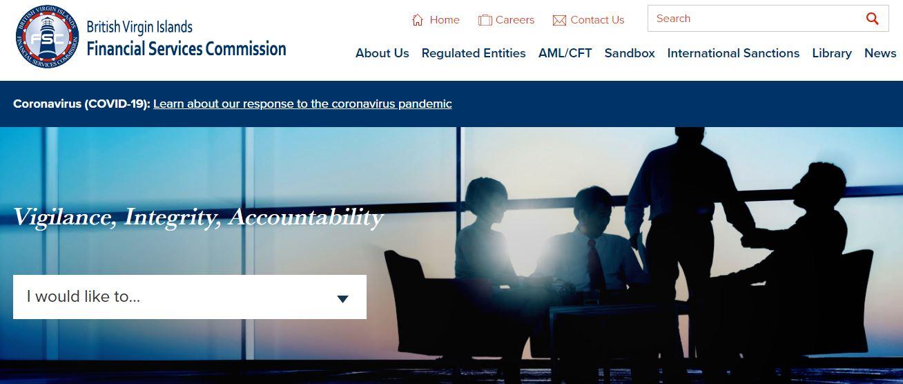 сайт регулятора bvifsc