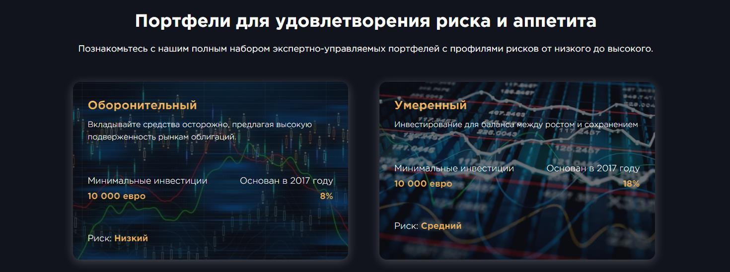 инвестиционные портфели goldfxbank