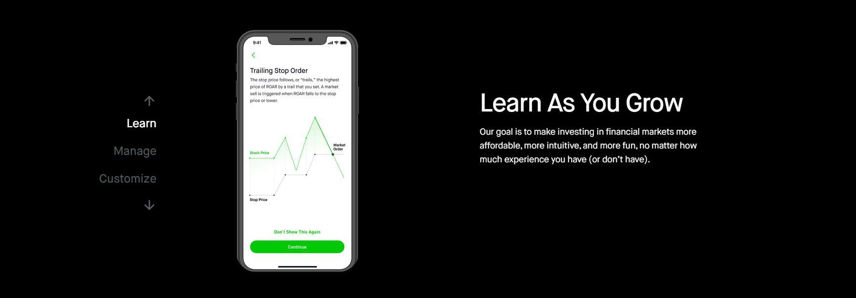 торговля через мобильное приложение robinhood
