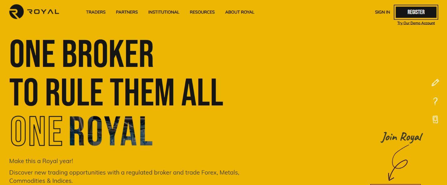 royal официальный сайт
