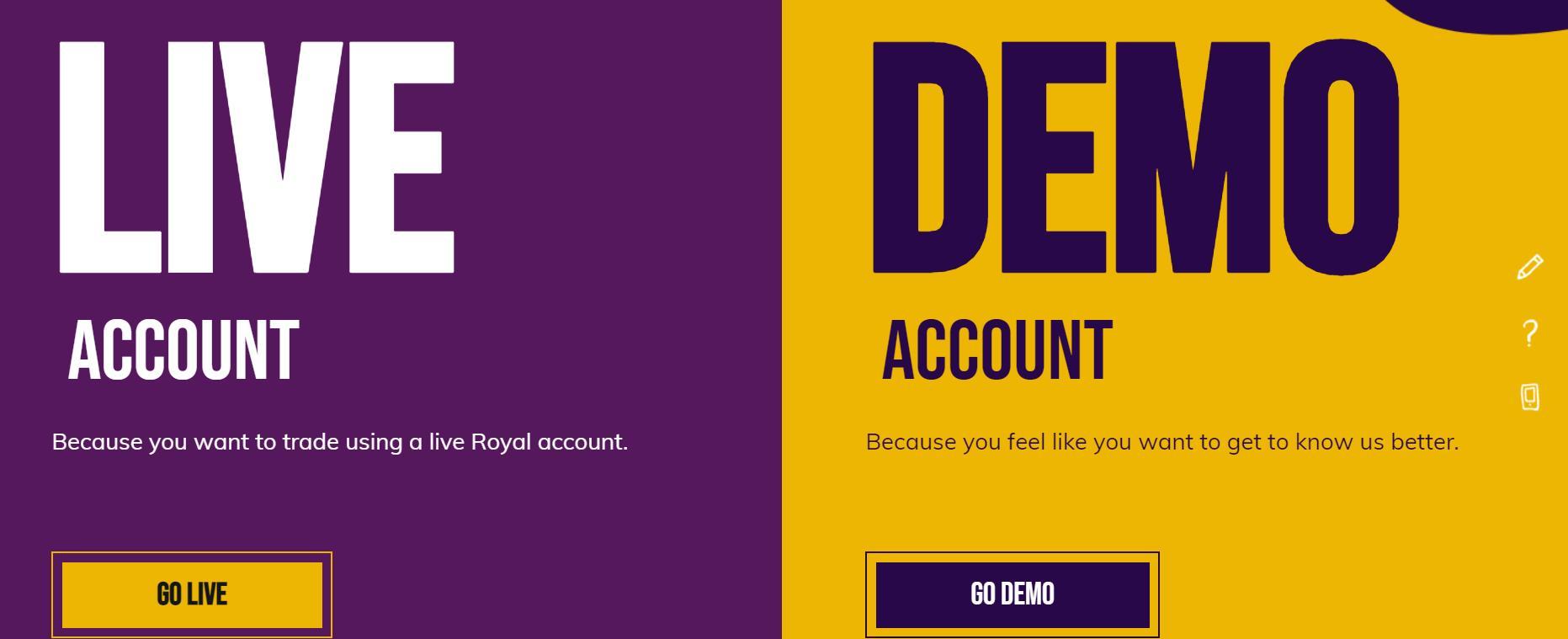 royal торговые аккаунты