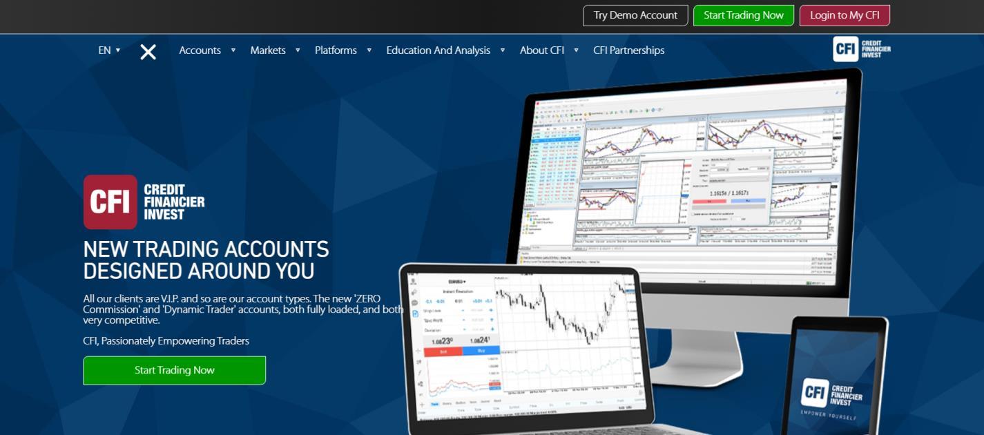 сайт брокера credit financier invest