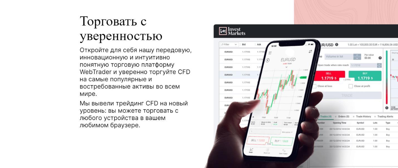 торговые условия investmarkets