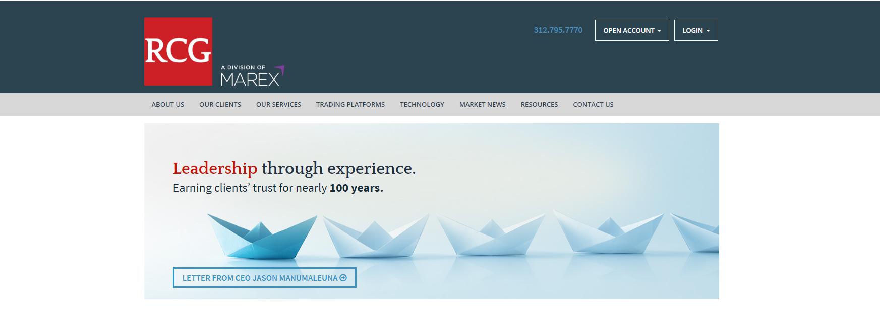 официальный сайт брокера rosenthal collins group