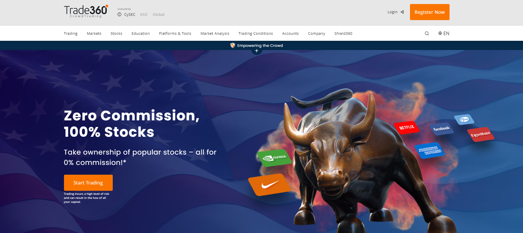 сайт брокера trade360