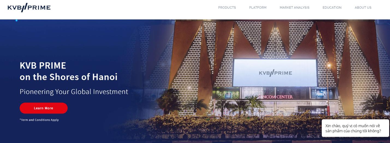kvb prime сайт брокера