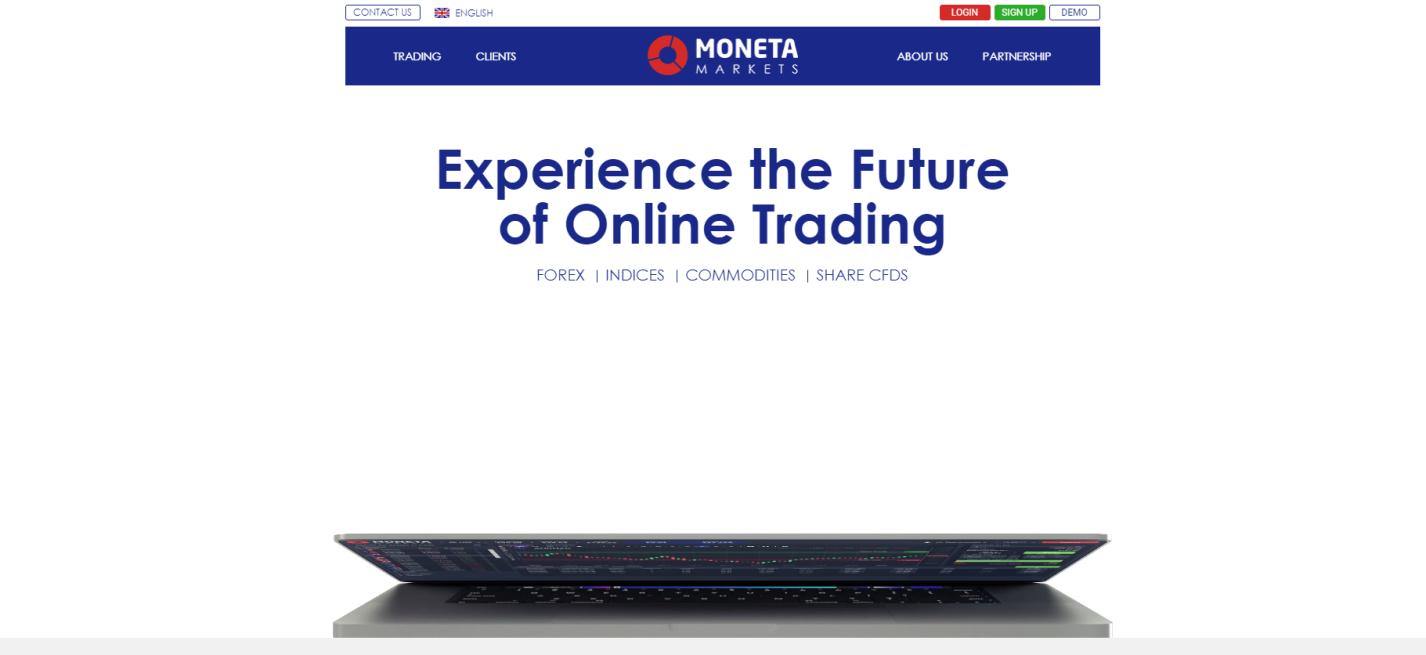 moneta markets сайт компании